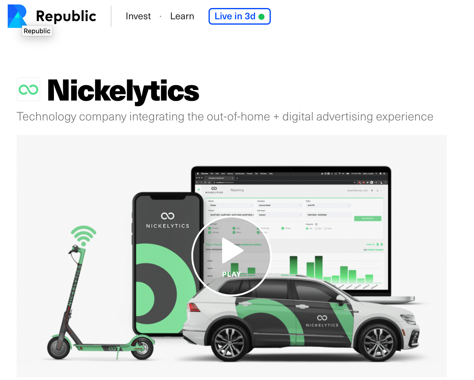 Nickelytics Raising Capital with Republic